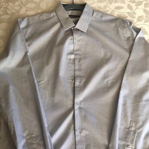 NWOT Bar III Slim Fit button down shirt